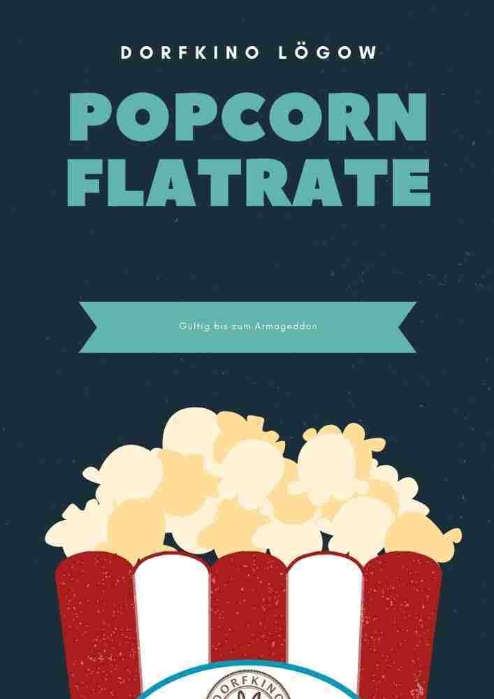 Geschenkgutschein Popcorn Flatrate
