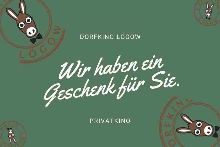 Geschenkgutschein Privatkino (bis 10 Personen ohne Test/Maske plus Geimpfte/Getestete = max. 20)