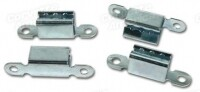 CLIP SET-BOLT ON WHEEL-STARBURST MOUNTING-4 PIECES-67 (#72034) 1AA2