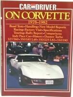 BOOK-CAR AND DRIVER ON CORVETTE-78-82 (#E2689)
