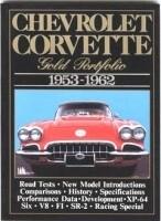 BOOK-CHEVROLET CORVETTE: GOLD PORTFOLIO-53-62 (#E14504)