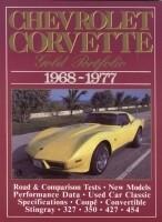 BOOK-CHEVROLET CORVETTE: GOLD PORTFOLIO-68-77 (#E14512)