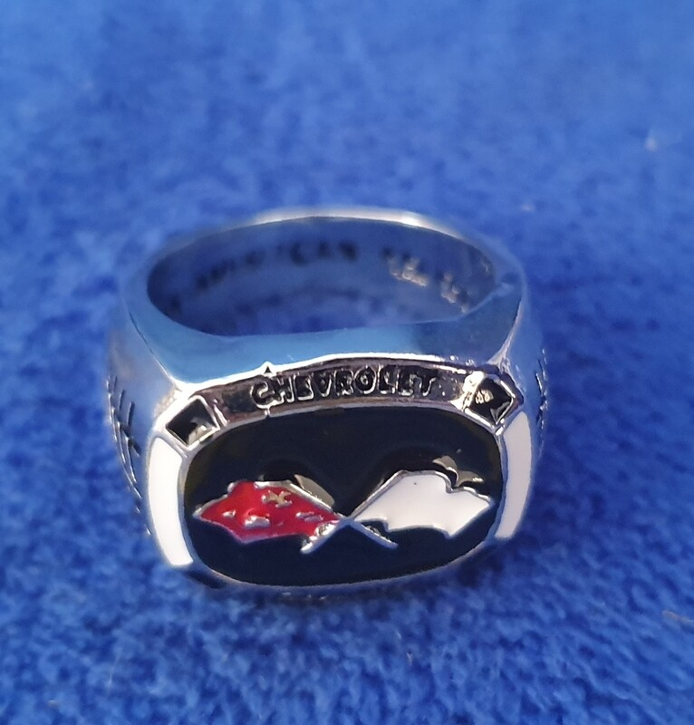 Corvette champion ring