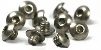 SCREW SET-GLOVE BOX DOOR REPAIR-SPECIAL SCREWS ONLY-11 PIECES-64-67 (#12053) 3C4