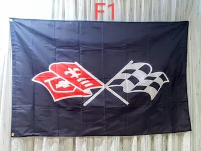 Corvette Flag For Decoration