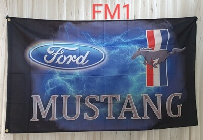 Mustangs Flag