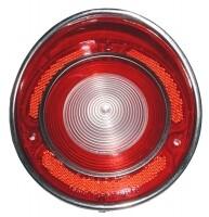 LENS-BACK UP LAMP-USA-EACH-69 (#E5842) 4B1