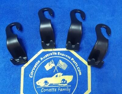 Car Back Seat Storage Hook Headrest Hanger Groceries Bag Handbag Holder Ser of 4 (LEE210001) 5AA5