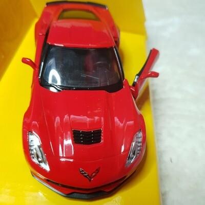 Corvette C7 Metal Diecast Cars 1:36 Chevrolet 3AA4