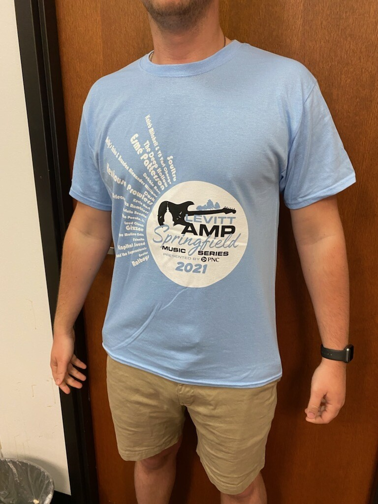 2021 Levitt AMP Springfield T-shirt