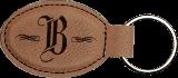 Leatherette Key Chain (Custom Engraved)