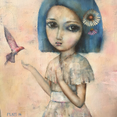 Little Bird Of Serenity Limited Edition Print