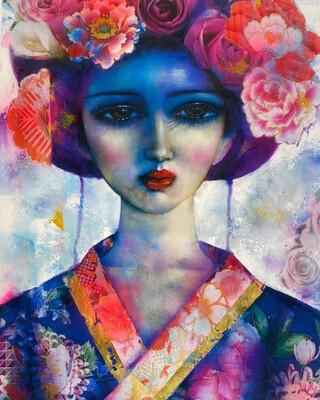 Parisienne Geisha Limited Edition Print