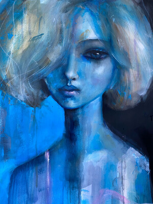 Blue Blonde Limited Edition Print