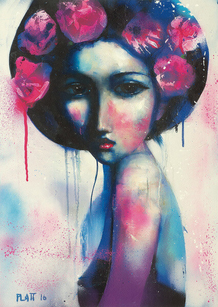Blue Siren Limited Edition Print