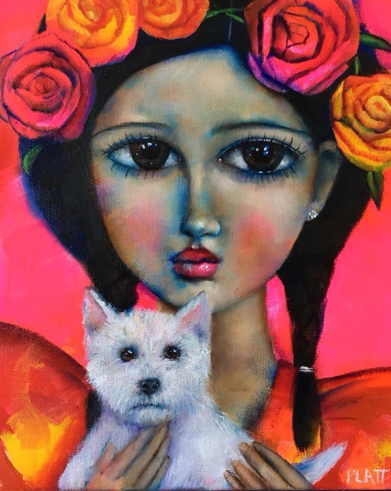 Little Frida Open Edition Print