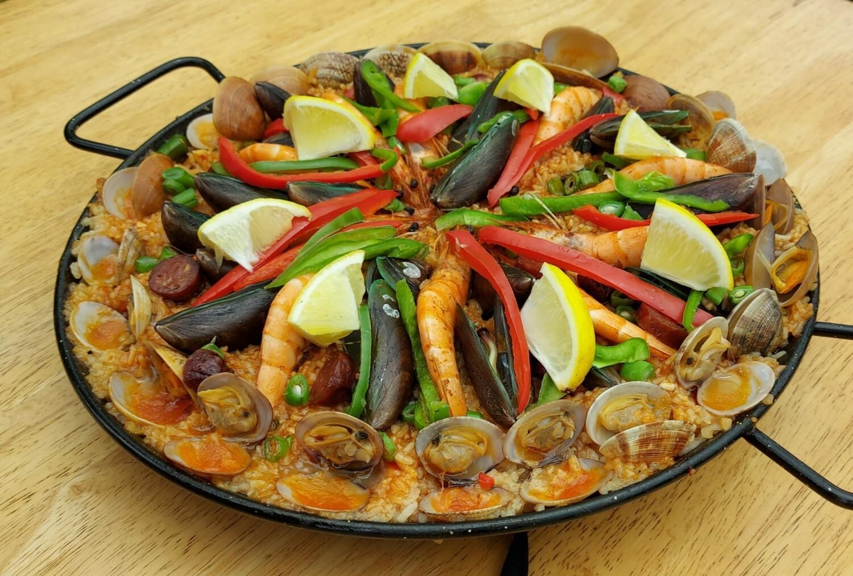 Seafood Paella | All Meat Paella | Paella Negra