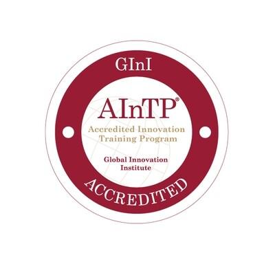 Accredited Innovation Training Program (AInTP)® AINTPBA