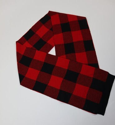 Woolrich WKACC1191 ruit/rood