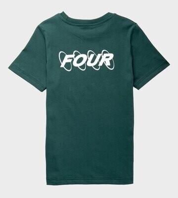 Four T-shirt Four Circle groen