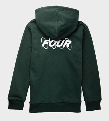 Four Hoodie Four Circle groen