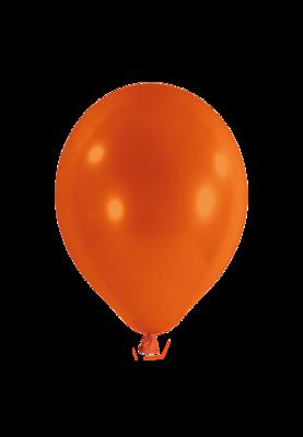 Latexballon, 25 cm, orange