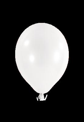 Latexballon, 25 cm, weiss