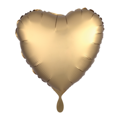 Herz SatinLuxe Gold