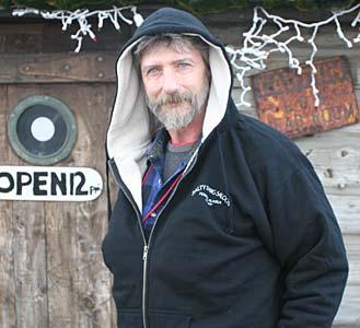 Sherpa Fleece-lined Zip Hoodie