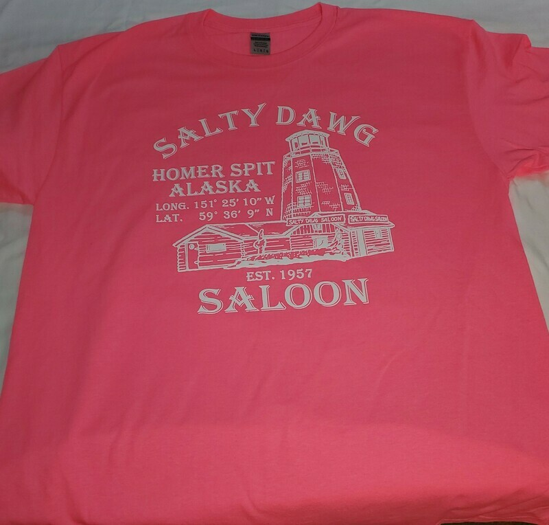 Safety pink classic T