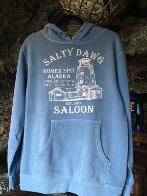 Pigment Dyed Blue Sweatshirt