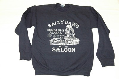 Navy Crewneck Sweatshirt