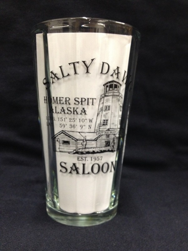 Salty Dawg Pint Glass