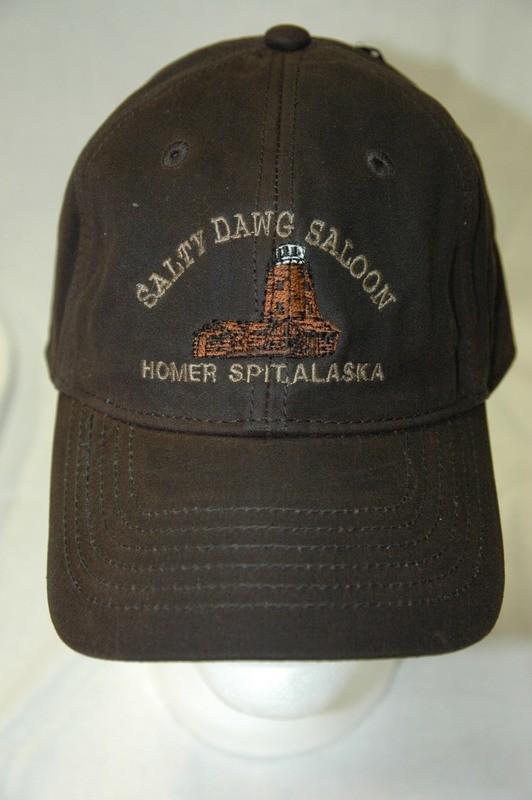 Brown Oilskin Cap
