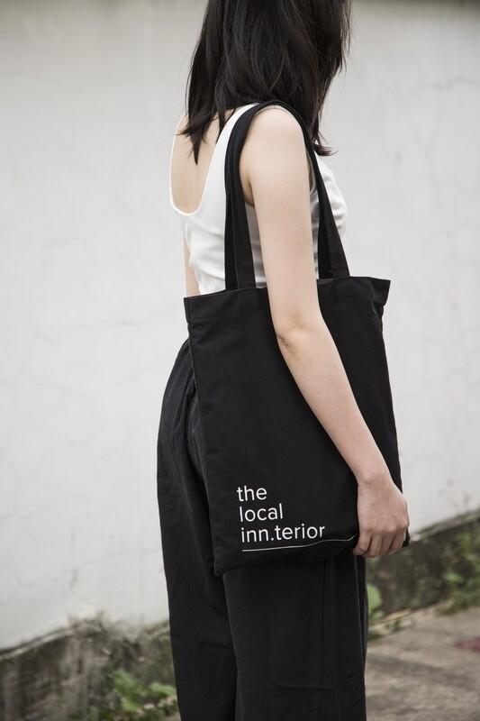 TLI Tote Bag in Black
