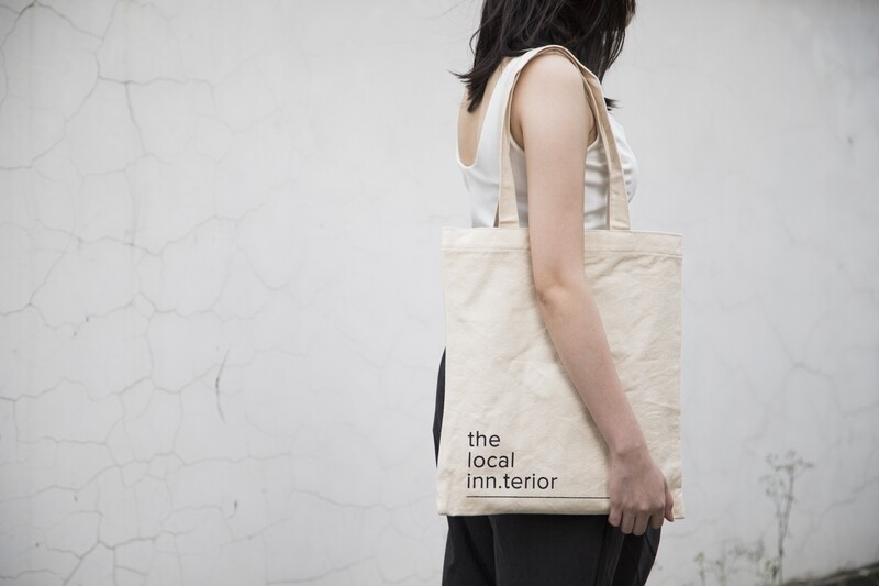 TLI Tote Bag in White