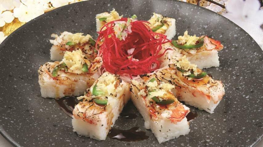 Aburi Lobster Oshi