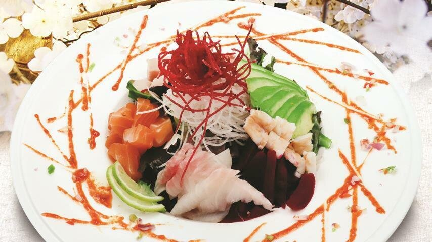 Spicy Assorted Seafood Salad