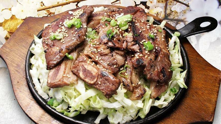 LA Galbi (BBQ Beef Ribs)