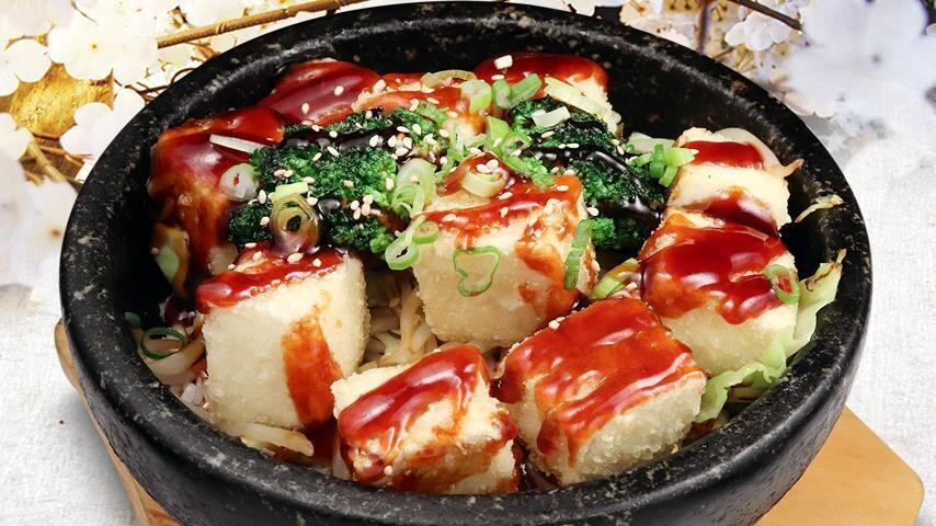 Tofu & Vegetable Teriyaki Don