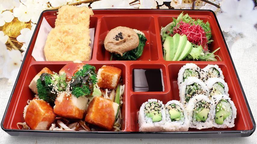 Tofu & Vegetable Bento