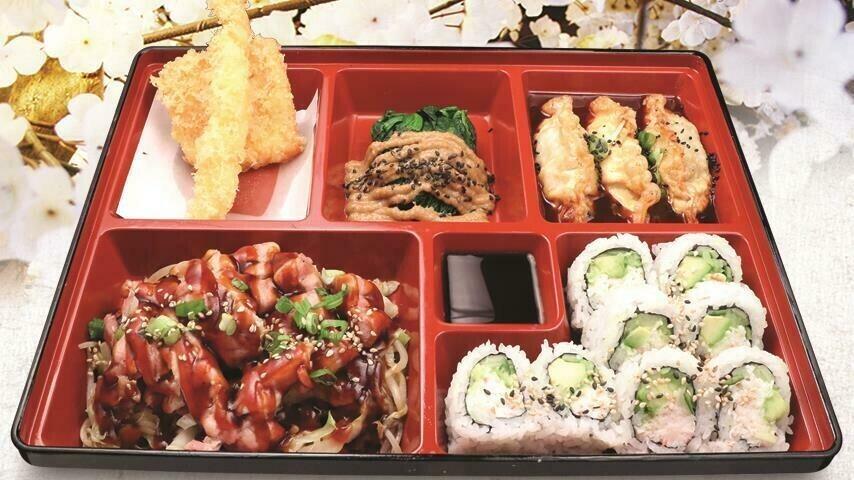 Spicy Gyoza Bento A