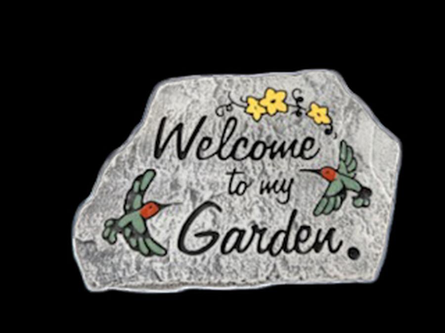 Welcome Garden Stone