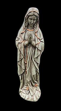 """Mary w/ Rosary 31"""""""