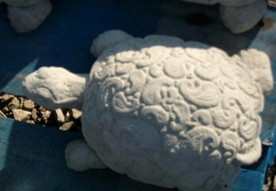 Sm. Paisley Turtle