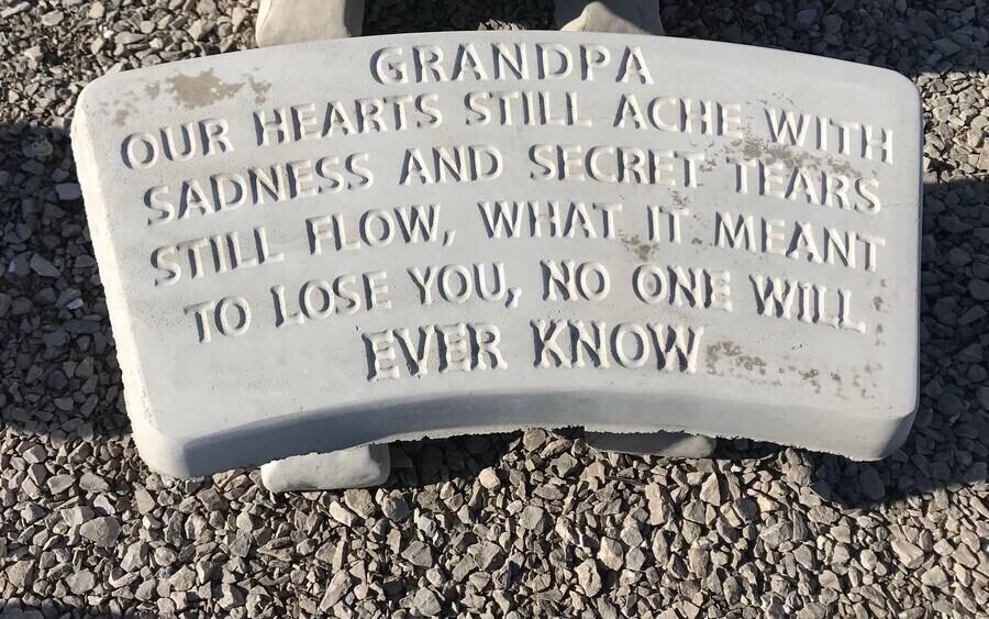 Grandpa Bench