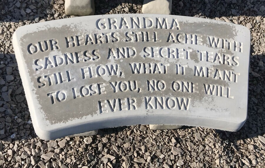 Grandma Bench