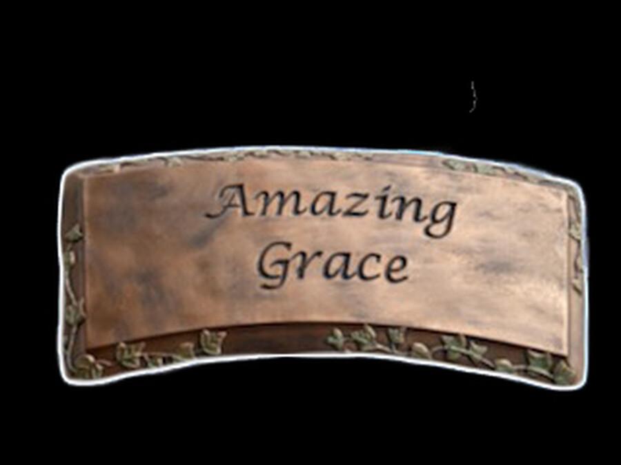 Amazing Grace Bench