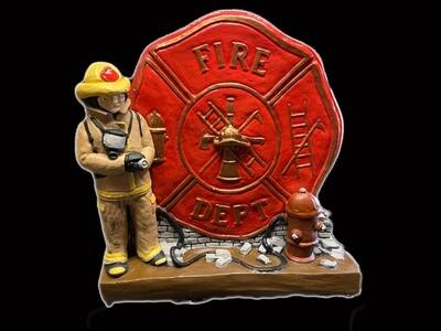 Sm. Fire Dept. Plaque