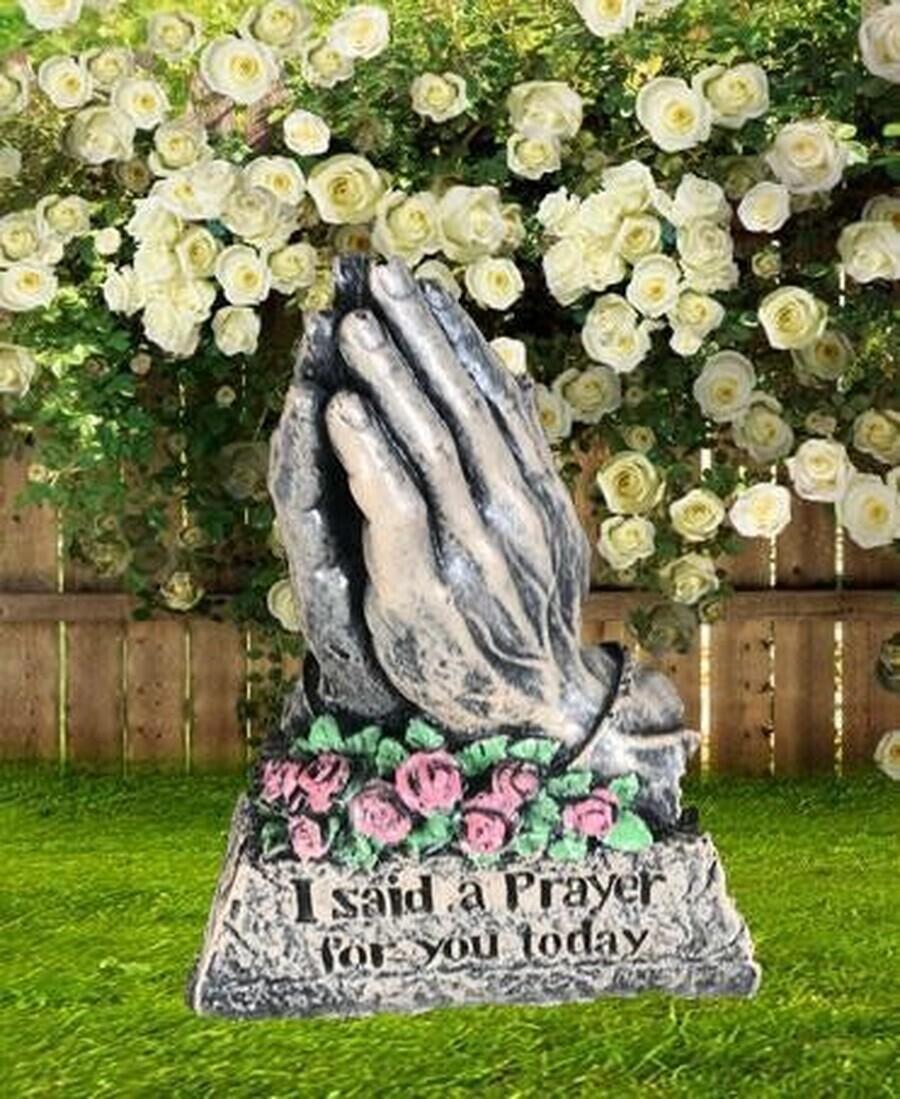 Detailed Praying Hands
